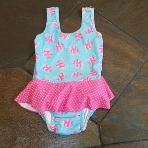 🐳Swimsuit w/built in swim diaper
